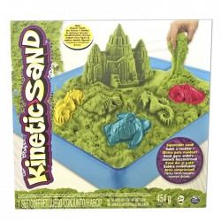 Kinetic Sand Playset Castell verd