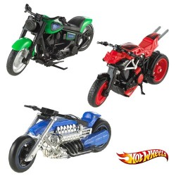 Motos Hot Wheels Street Pwer 1:18