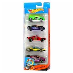 Hot Wheels Pack de 5 vehicles