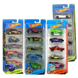 Hot Wheels Pack de 5 vehicles