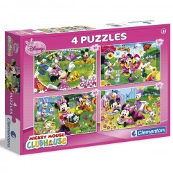 Puzle 2x20 + 2x60 Minnie