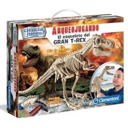 Arqueojugando T-Rex gegant