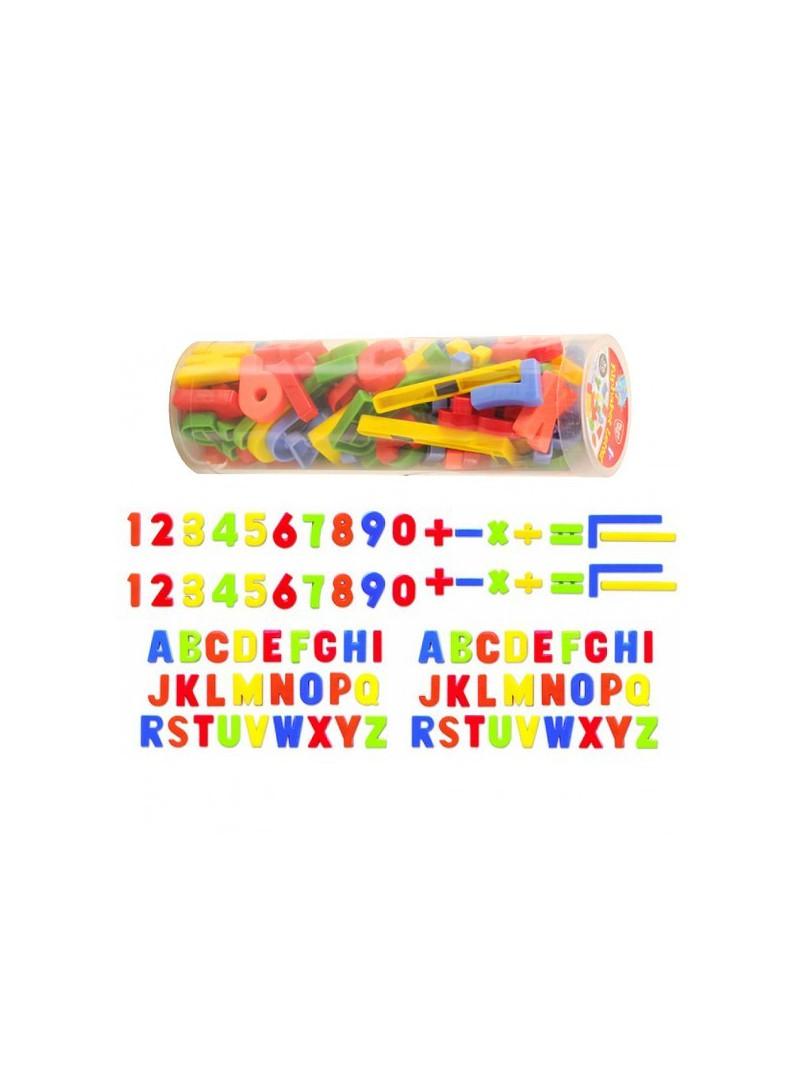 Tub lletres magnètiques 86 peces