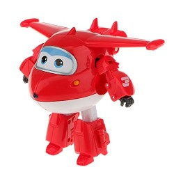 Super wings figura transformable Jett