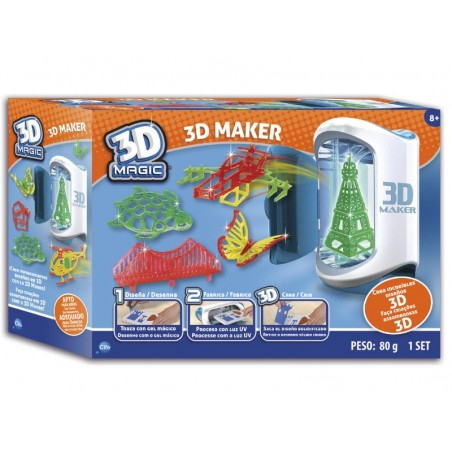 Impresora mágica 3D