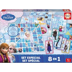 Educa set especial 8 en 1 Frozen