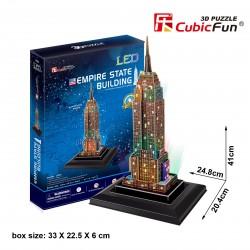 Empire State Building Puzle 3D LED