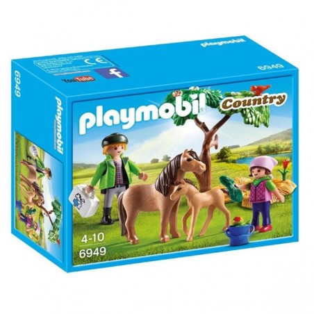 PLAYMOBIL® veterinari amb ponis