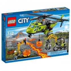 Lego City volcà helicopter