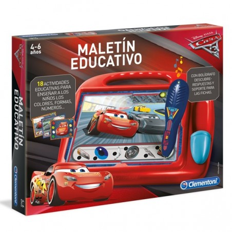 Maletín educativo Cars 3