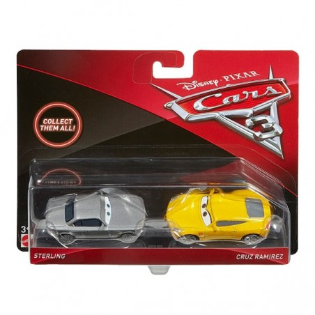 Cars 3 pack 2 cotxes