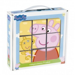 Trencaclosques Peppa Pig 9 cubs