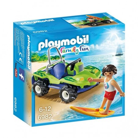 PLAYMOBIL® surfista amb Buggy