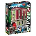 Playmobil caserna parc de bombers Ghostbusters