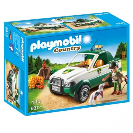 PLAYMOBIL® guardaboscos amb pick up