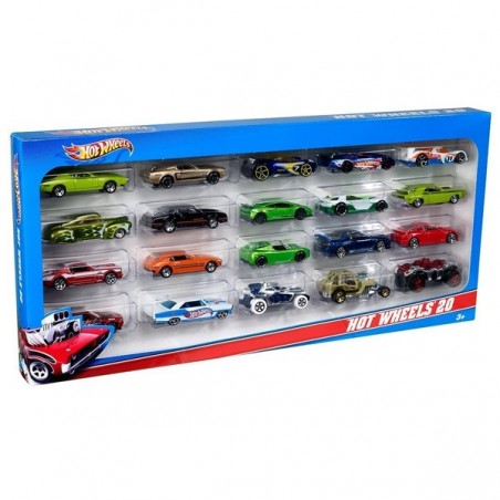 Hot Wheels pac 20 vehicles