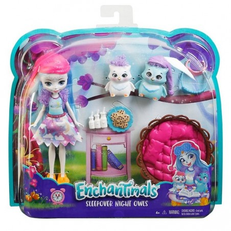 Enchantimals nina amb mascotes - Ohana Owl