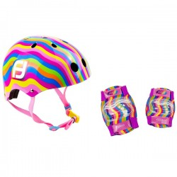 Funbee casco i proteccions colors