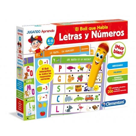 Boli interactivo letras y números