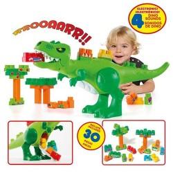 Dinosaure amb 30 blocs i sons
