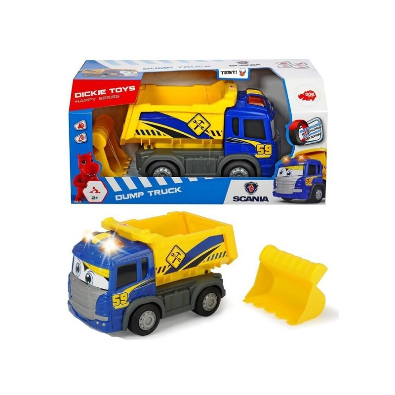 Happy Camió bolquet Scania 25 cm