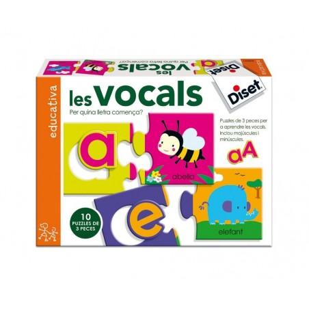 Las vocales (juego en catalán)