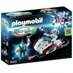 PLAYMOBIL® Skyjet amb dr. X i robot
