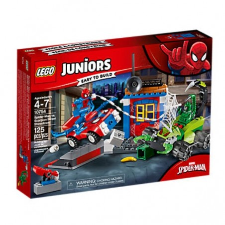 Juniors Spider-Man vs. Escorpí: batalla de carrer LEGO