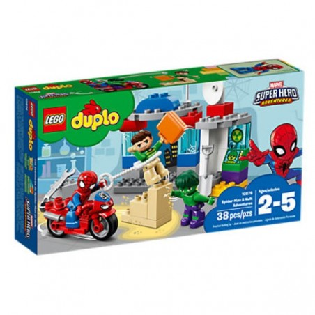 Duplo Spiderman & Hulk Adventures LEGO