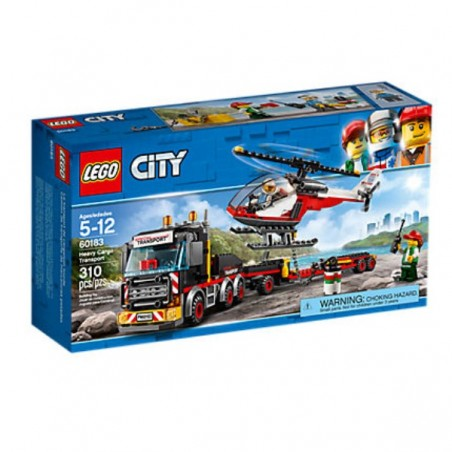 City Camió de transport de mercaderies pesades LEGO®