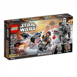 Star Wars Microfighters: Speed ??Esquiador vs. Caminant de la Primera Ordre LEGO