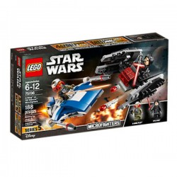 Star Wars Microfighters: A-Wing contra Silenciador TIE LEGO