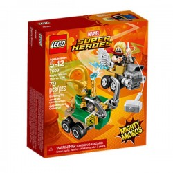 Super Heroes Mighty Micros: Thor contra Loki LEGO®